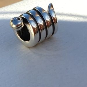 Pandora Snake Charm Bead *RETIRED #790171